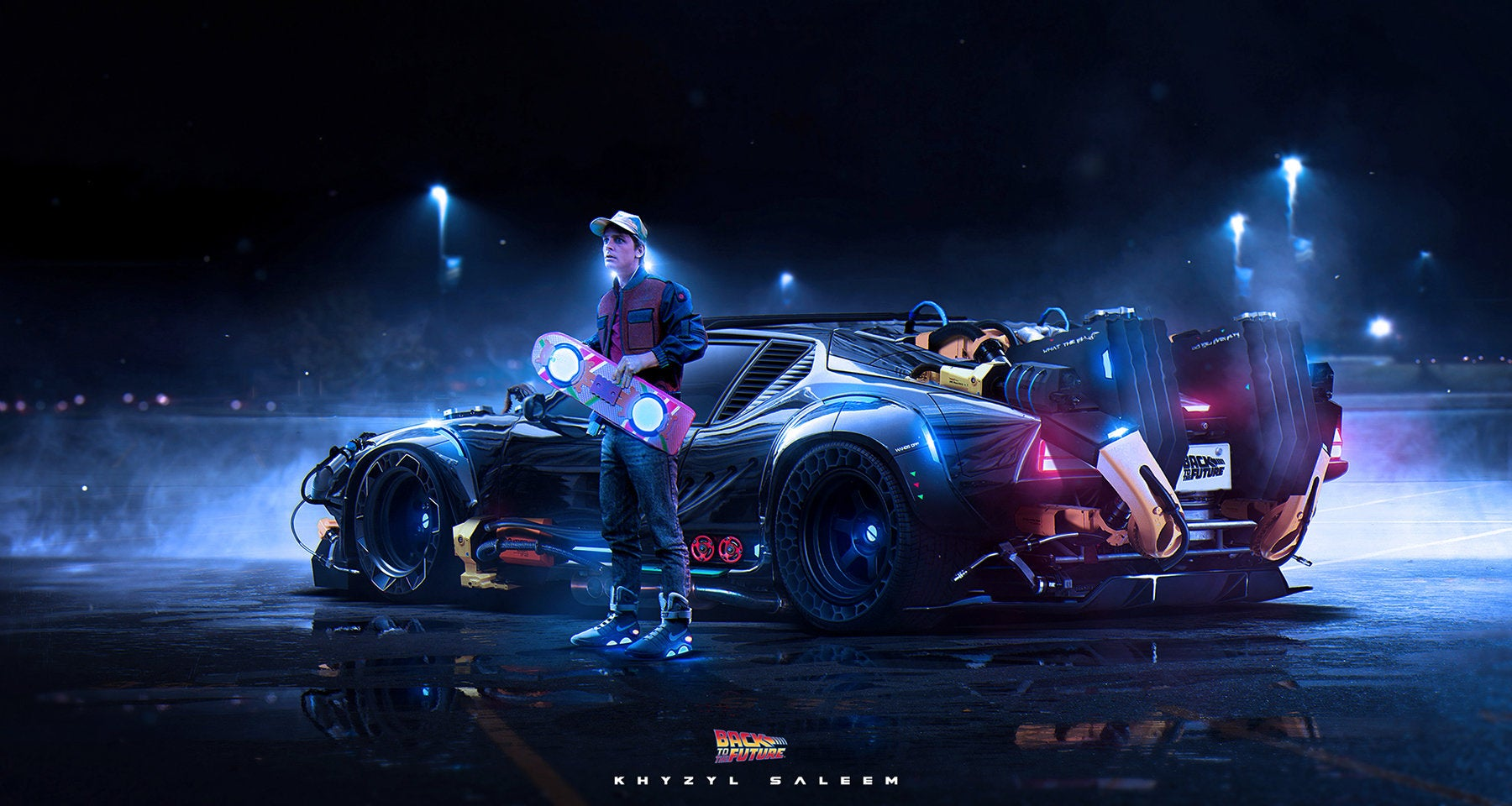 Back To The Future Redesign Scraps The DeLorean For Something...Faster
