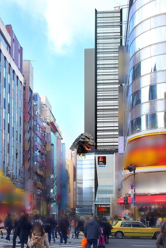 Godzilla Hotel Opening in Japan