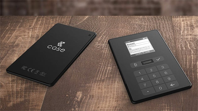 A Physical Bitcoin Wallet Will Put Coins In Your Non Digital Pocket