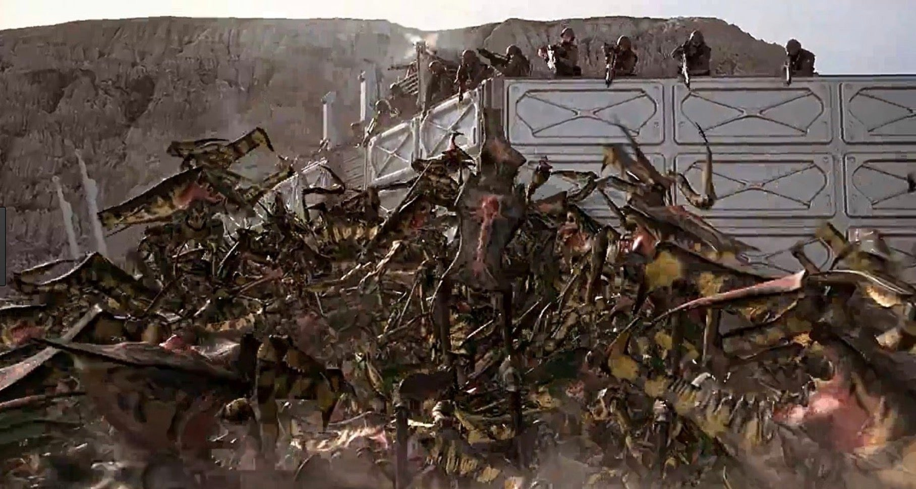 20 Years Later, Some KillerStarship Troopers Behind The Scenes Footage Is Now Online
