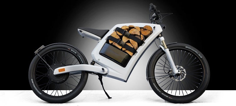 This Electric Motorcycle Has Storage Space Instead of a Gas Tank