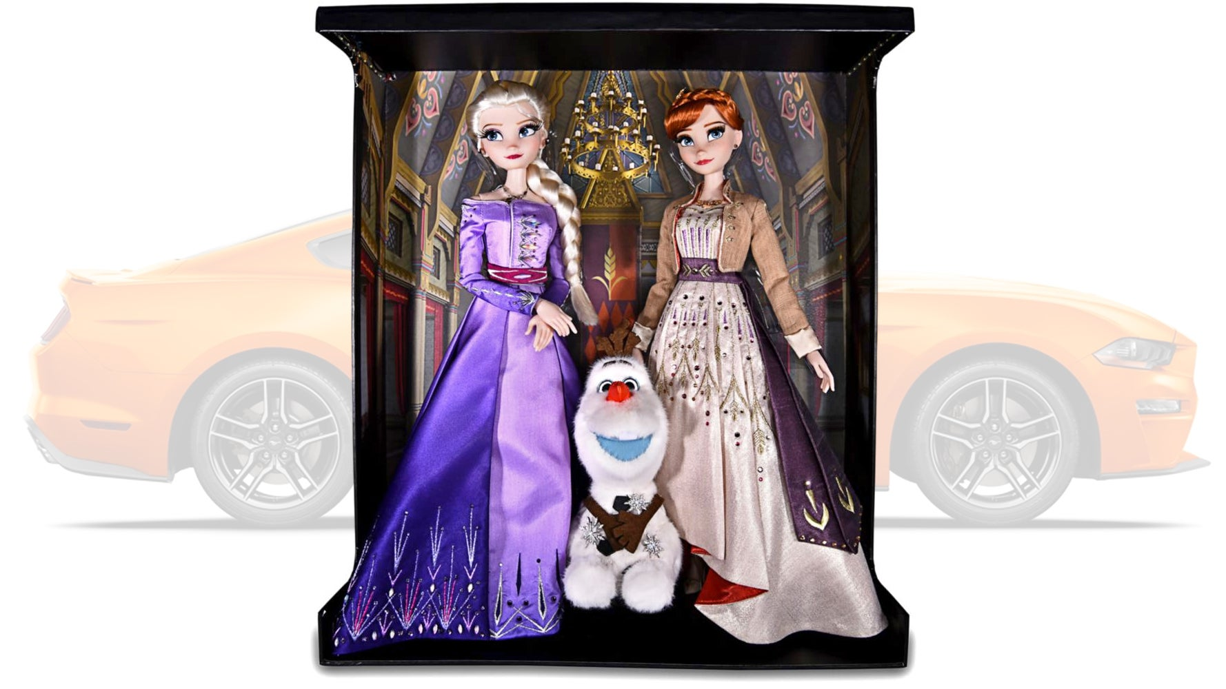You Could Buy Yourself A Mustang, Or These $30,000 Frozen Dolls