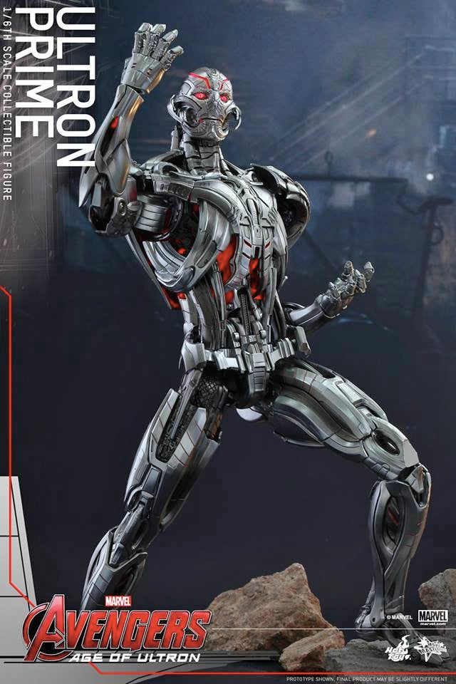 This Intricate Figure Is Our Best Look Yet At Ultron From Avengers: AOU