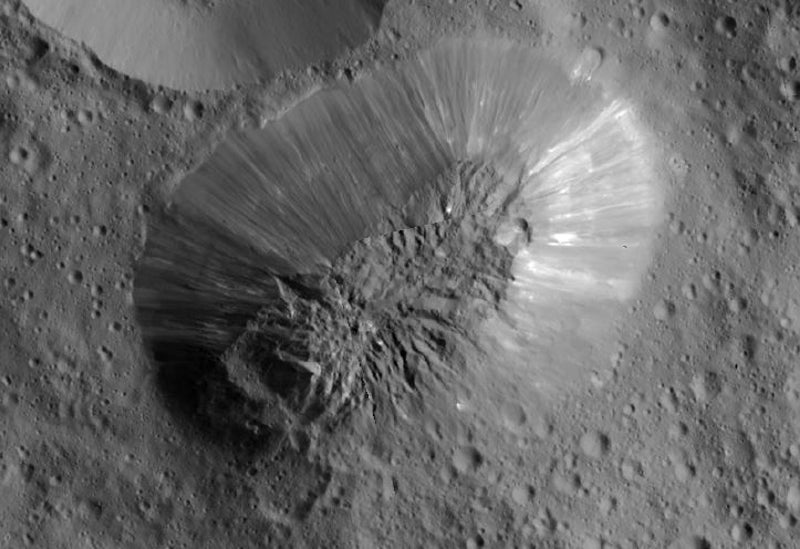 Scientists Think They Have Found A Giant Ice Volcano On Ceres