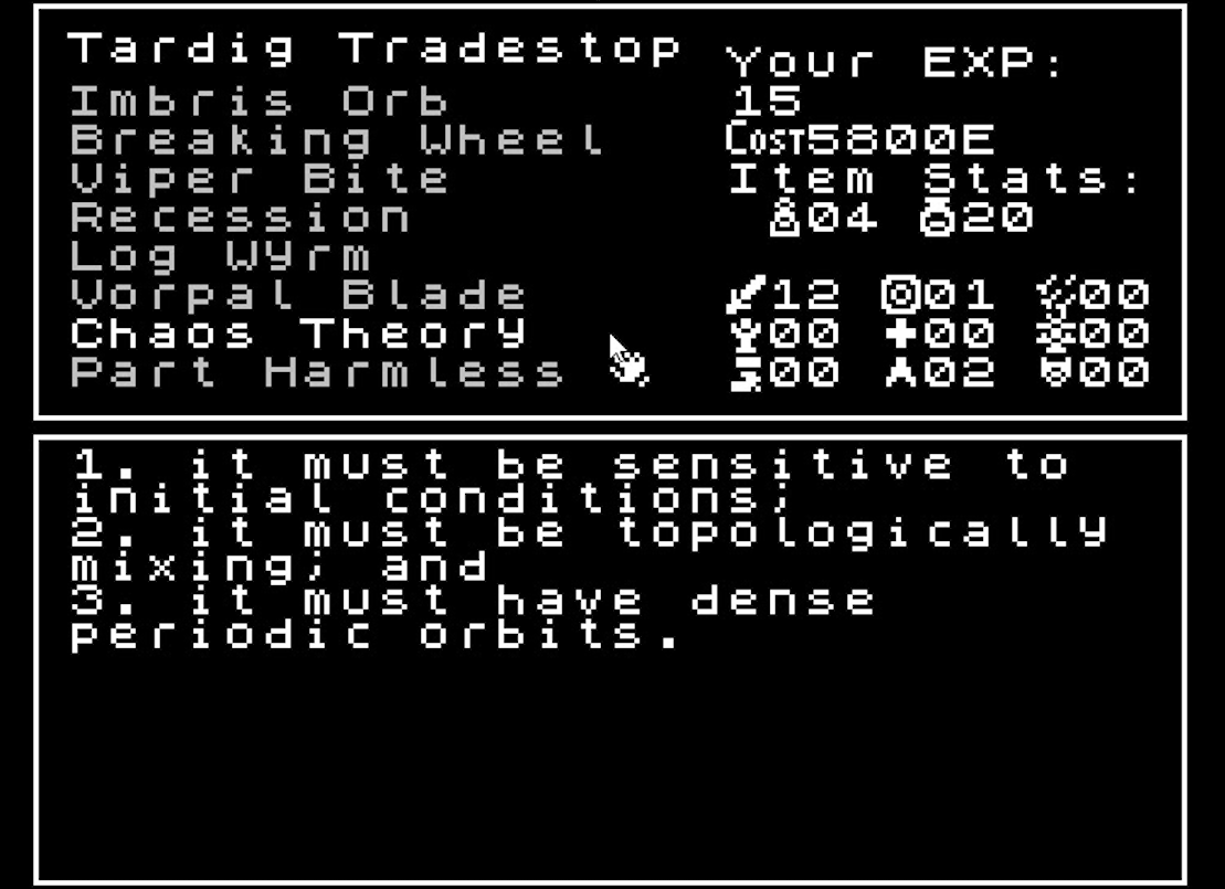 A Surreal RPG That's Too Spooky For Me