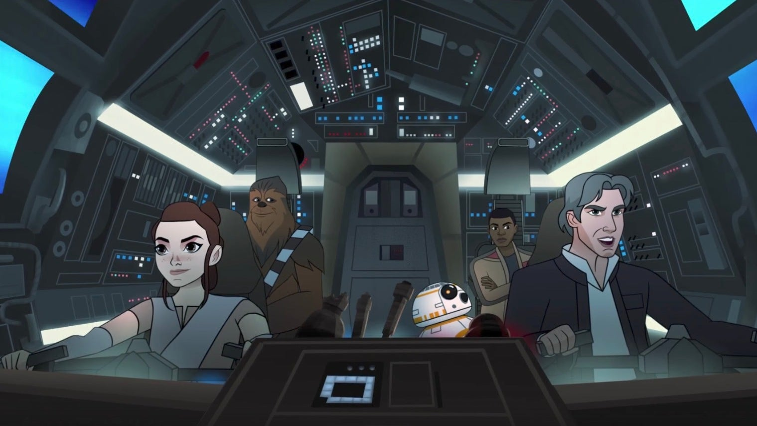 The Millennium Falcon Almost Explodes In A New Star Wars: Forces Of Destiny Short