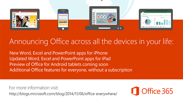 Microsoft Office Comes to iPhones, Android Preview Available, All Free