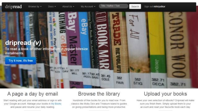 Dripread Splits Articles into Daily Email Installments