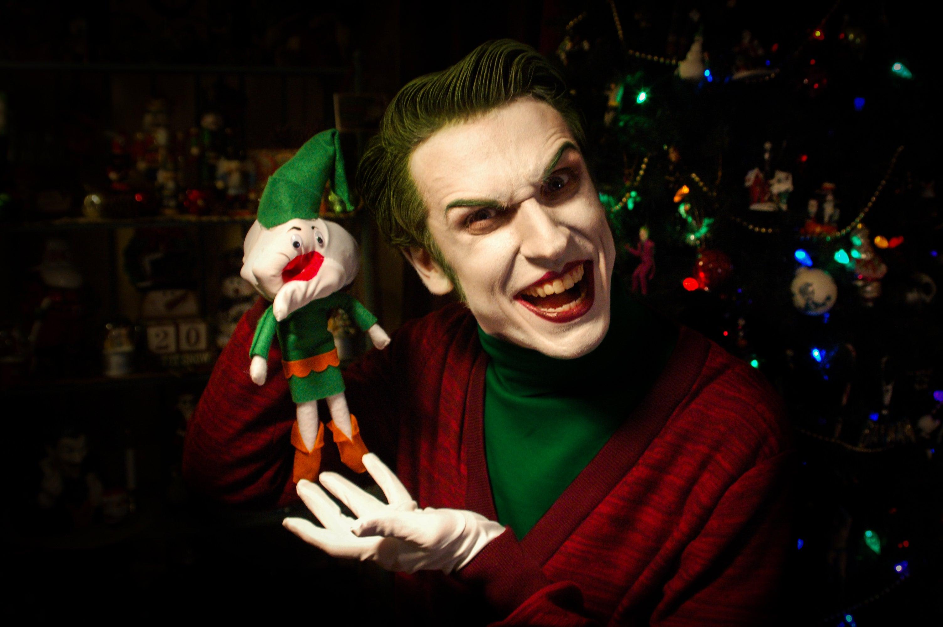 Joker Christmas.The Joker Wishes You All A Very Scary Christmas Kotaku