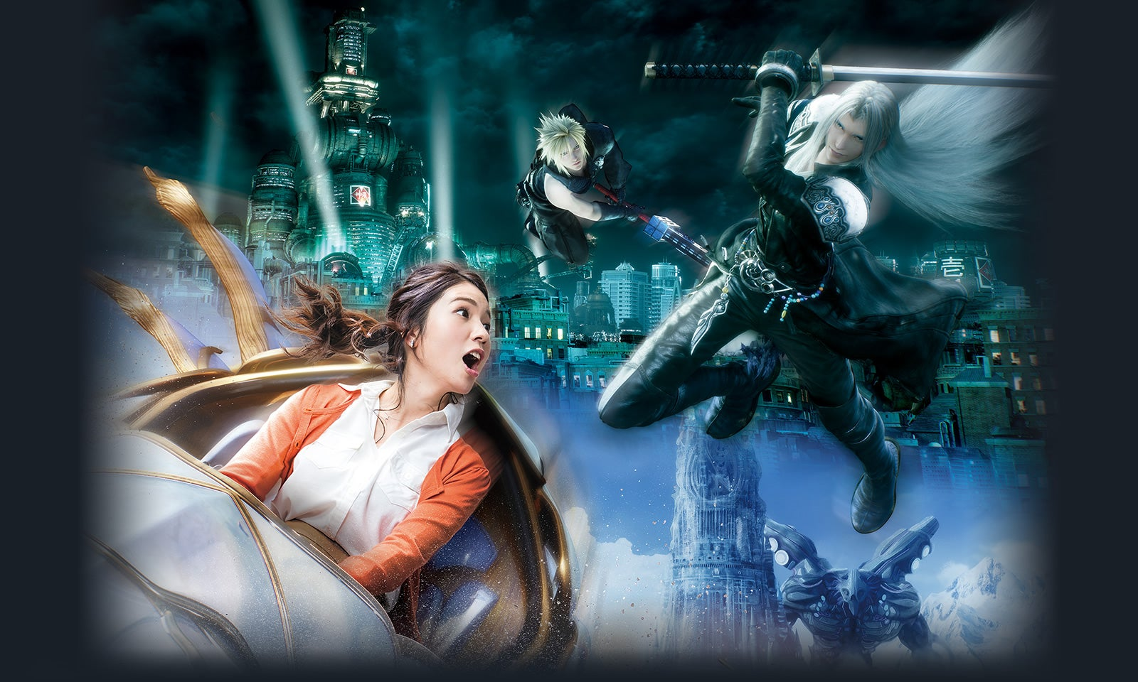 Final Fantasy Ride Coming To Universal Studios Japan In 2018