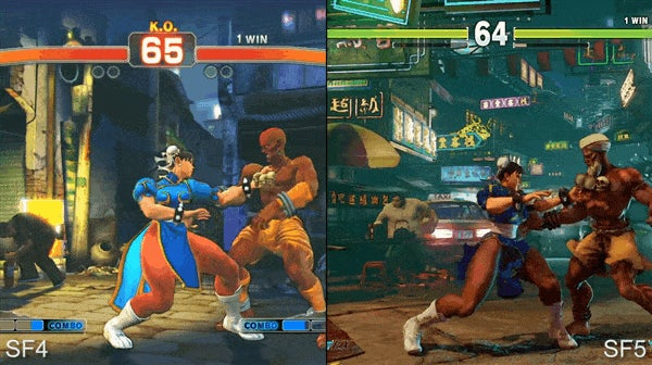 Playing Street Fighter IV And V At The Same Time On One Controller Almost Works