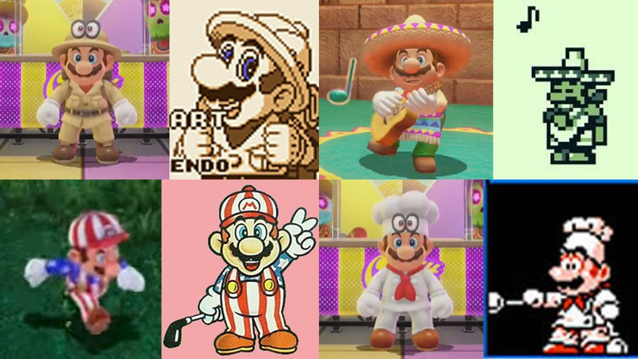 Super Mario Odyssey's Outfits Are A Nice Throwback