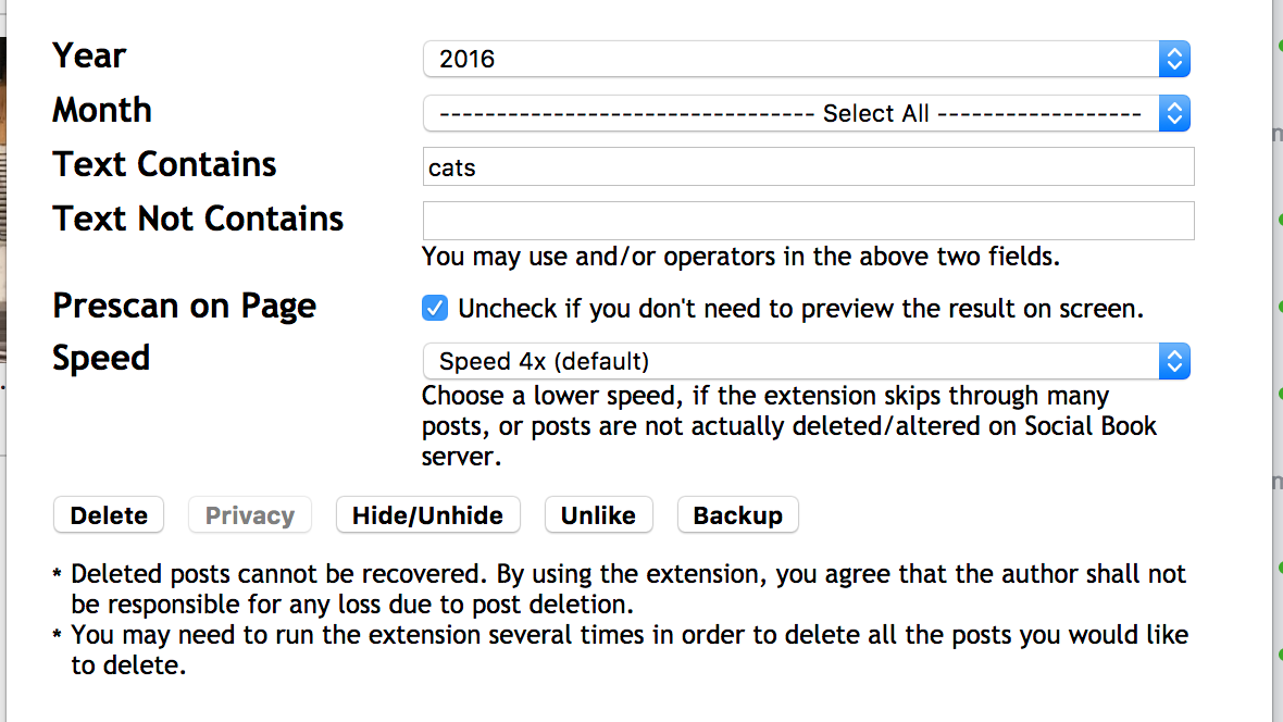 Delete Your Old Facebook Activity With Must-Have Extension