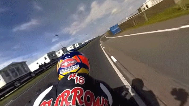 Take a Heart-Pounding Ride on the Back of This Absurdly Fast Motorcycle