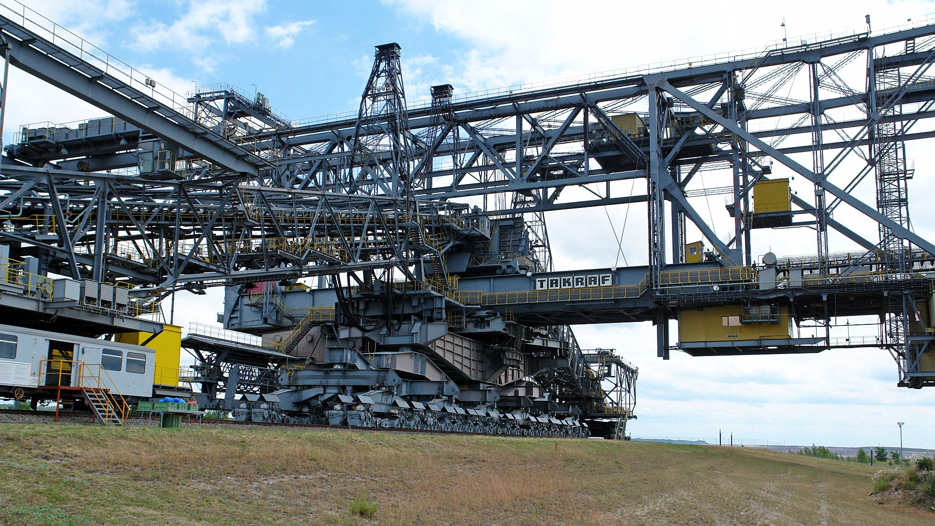 This is the largest movable machine in the world