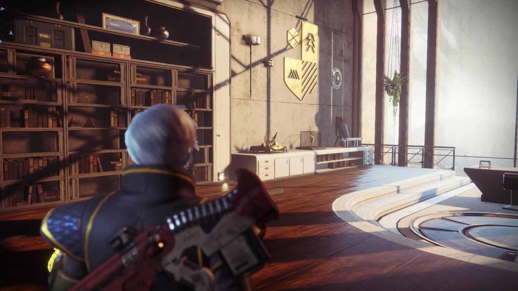 The Best Part Of Destiny 2's New Exotic Quest Is The Mixtape In Zavala's Office