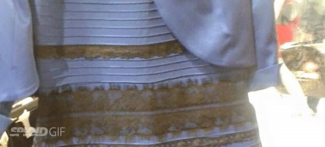 Case solved: This is the true colour of that goddamn white and gold dress