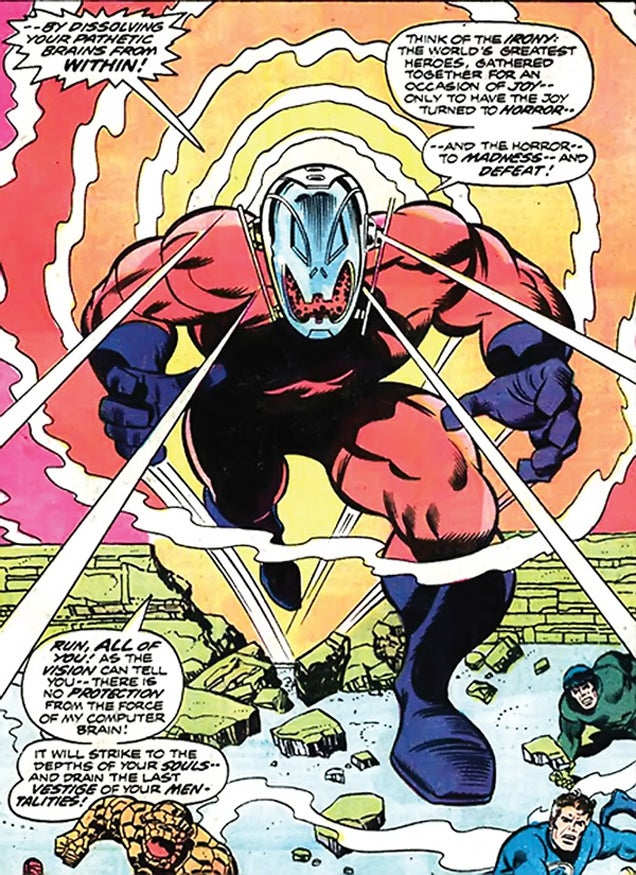 All the faces of Ultron: The design evolution of the Avengers' archenemy