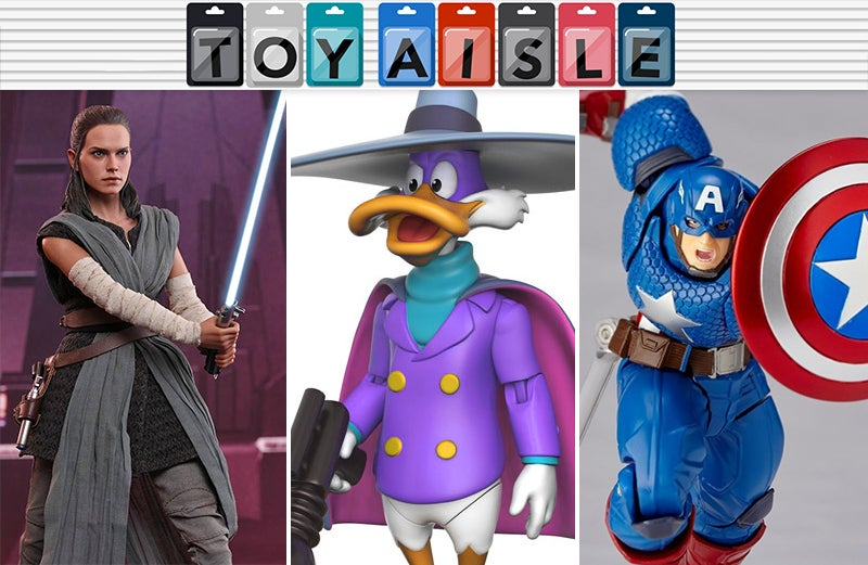 The Darkwing Duck Action Figure You've Always Wanted, And More Of The Best Toys Of The Week