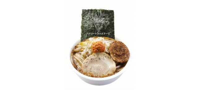 Street Fighter V Noodle Restaurant Opening in Tokyo