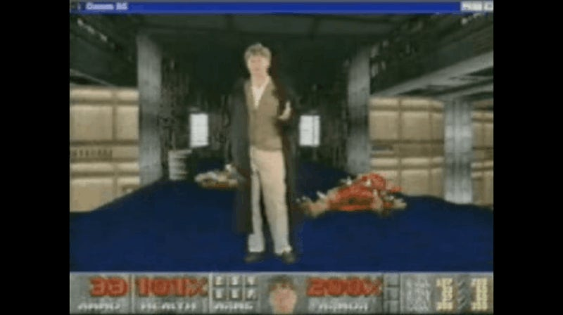 That Time Bill Gates Starred In A DOOM Promo Video