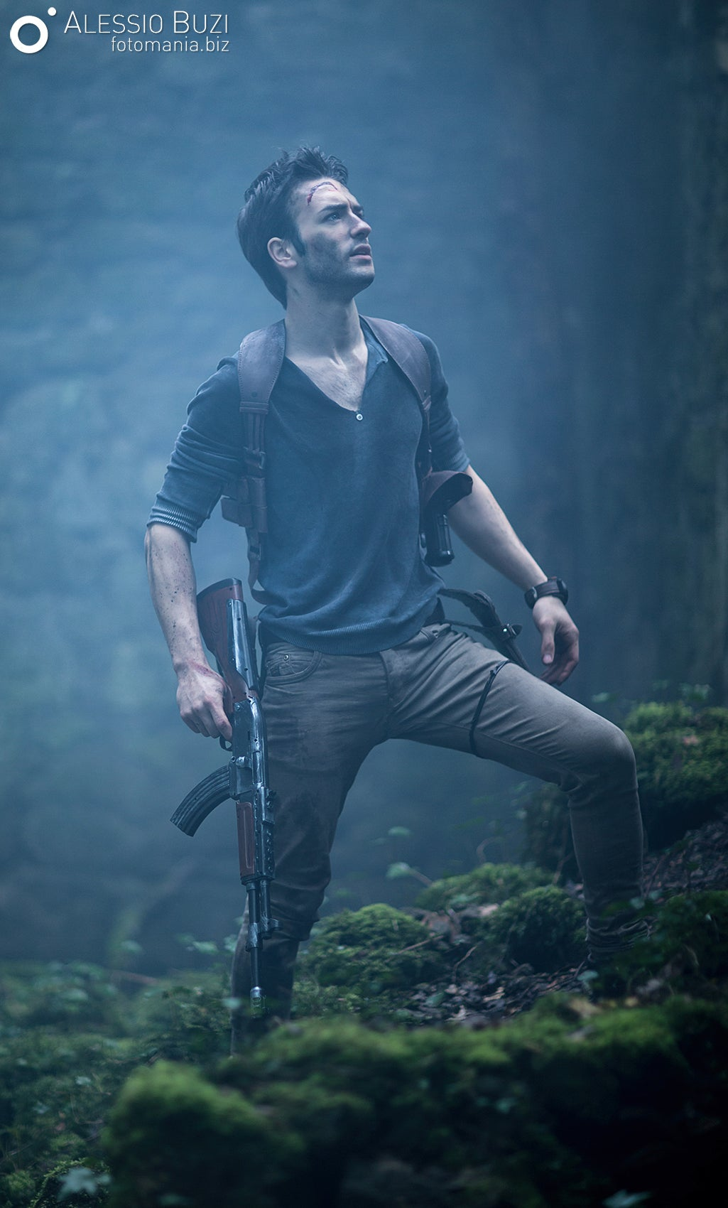 Amazing Nathan Drake Cosplay Enters...Uncharted Waters