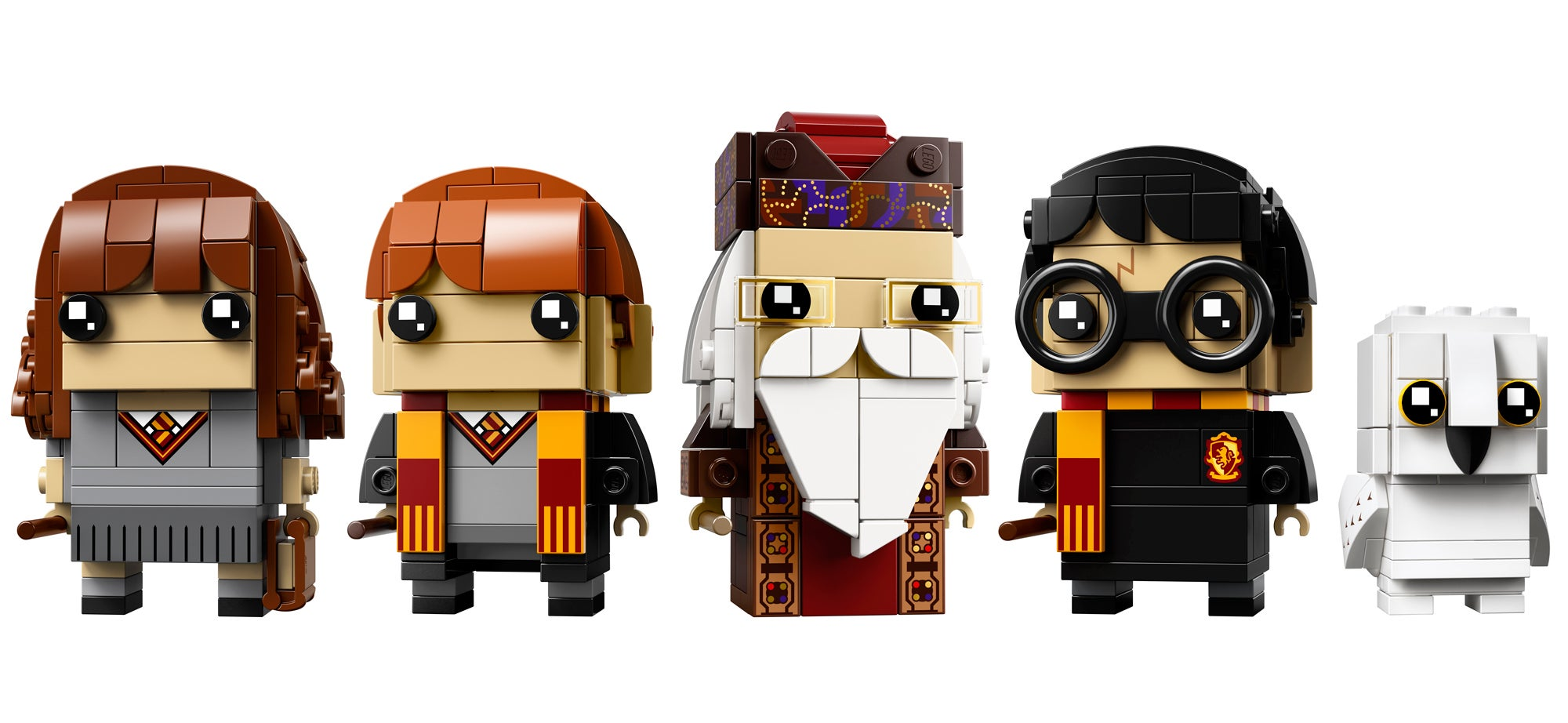Lego's Harry Potter BrickHeadz Are Going To Avada Kedavra You With Cuteness