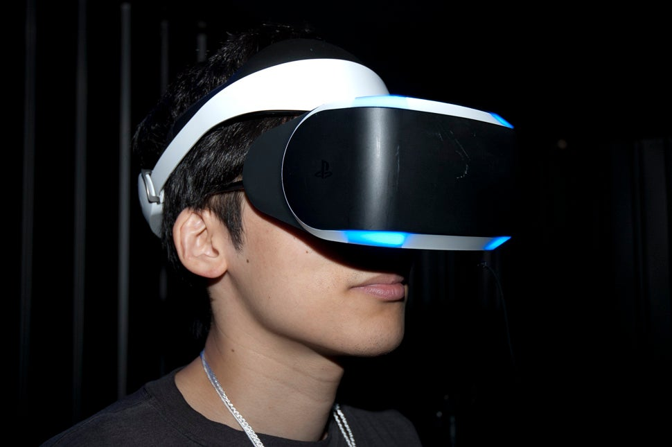 Going for a Ride with Sony's New VR Headset