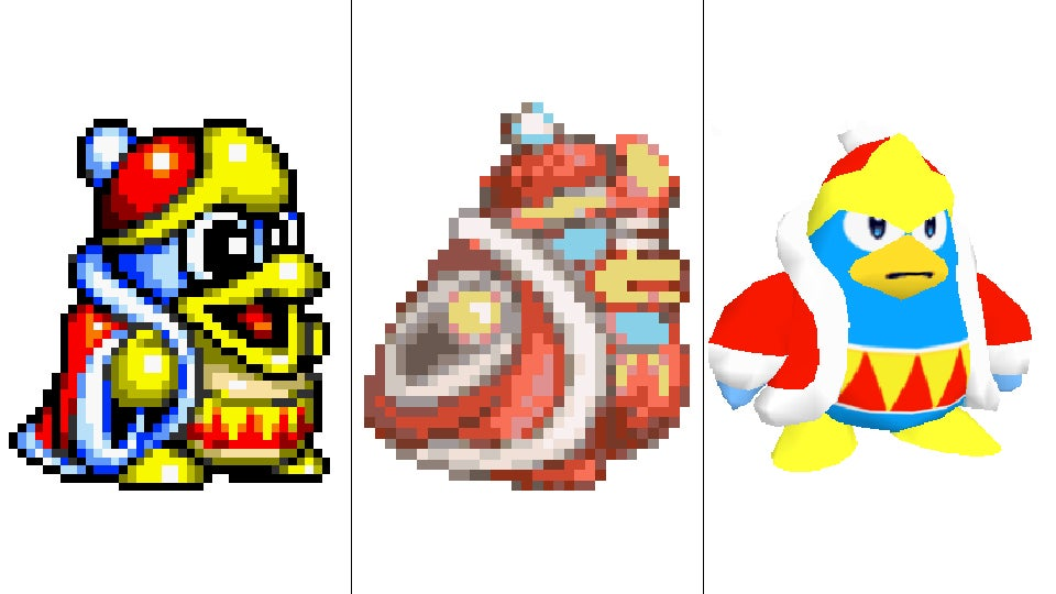 He's Just A Pink Blob, But Kirby Sure Has Changed Over The Years