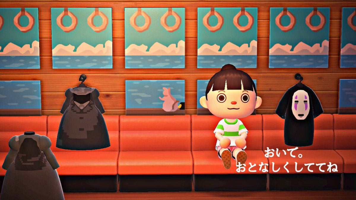 Spirited Away Recreated In Animal Crossing: New Horizons