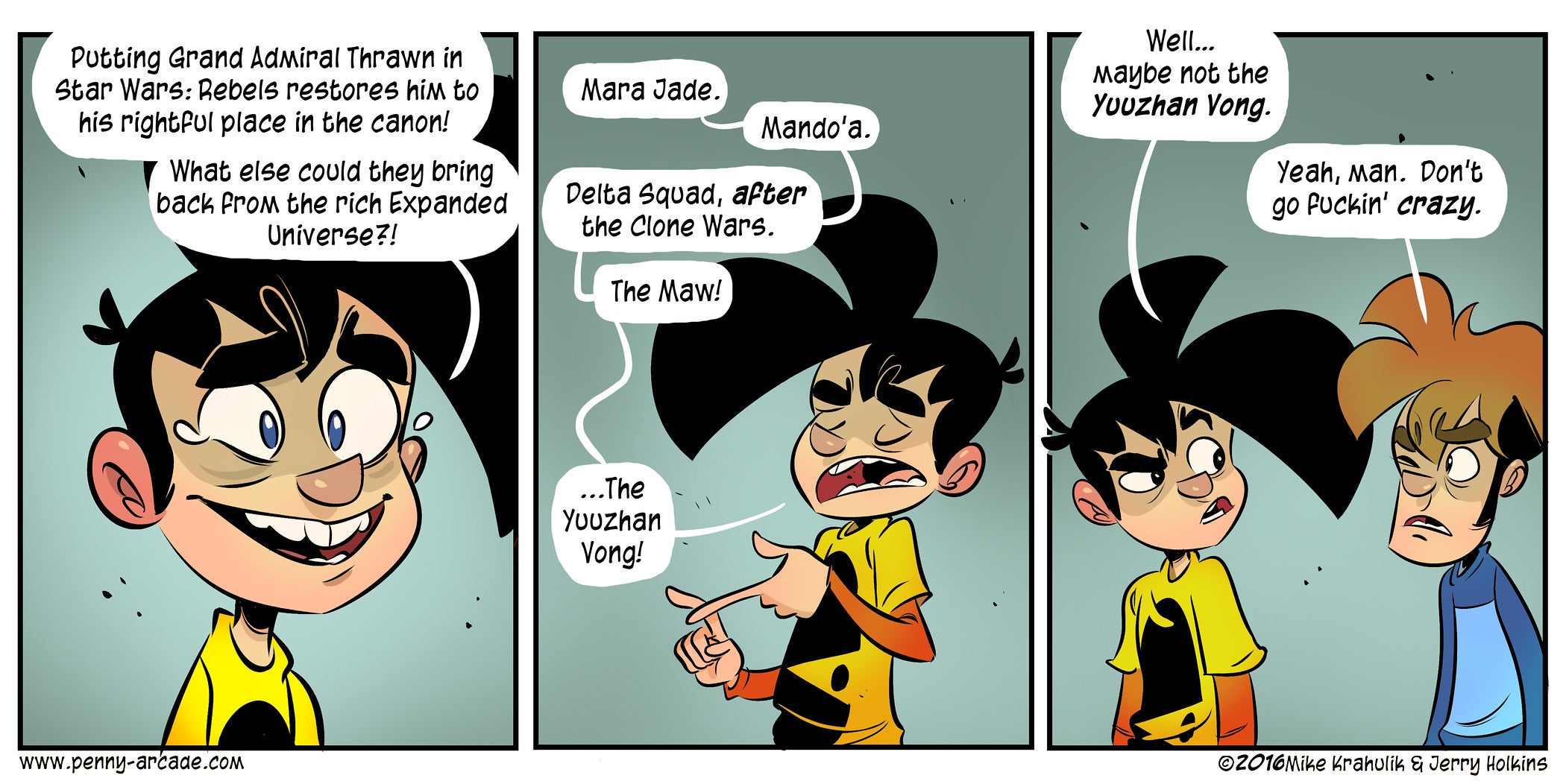 Sunday Comics: Expanded Universe
