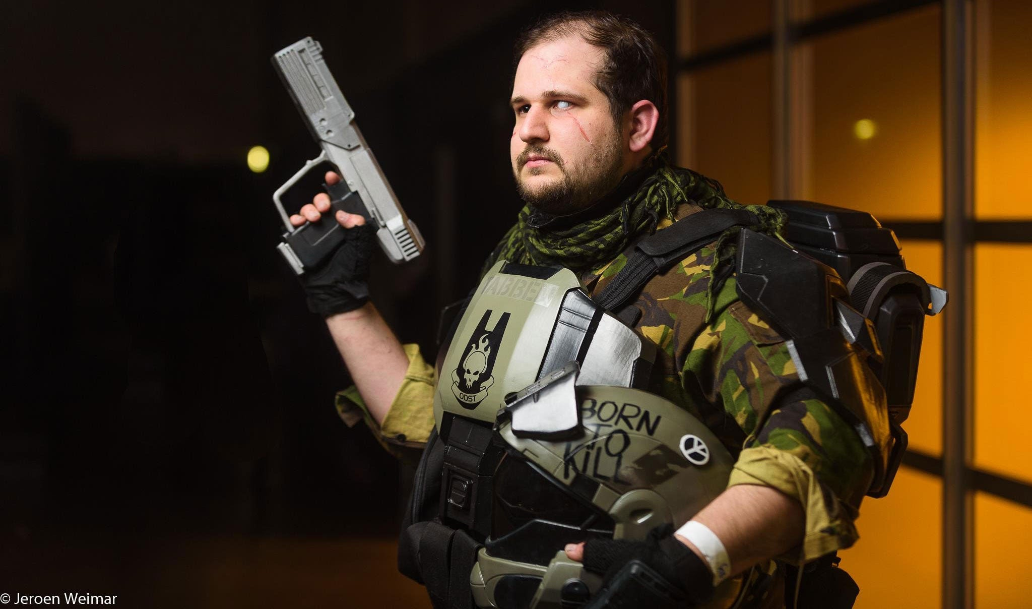 Halo ODST Cosplay Is Born To Kill