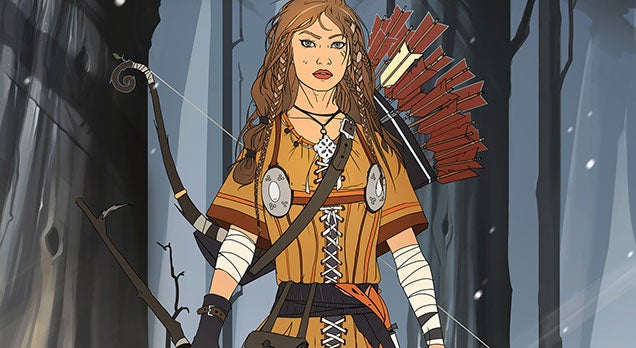 She Is The Huntress, The Killer Of Beasts
