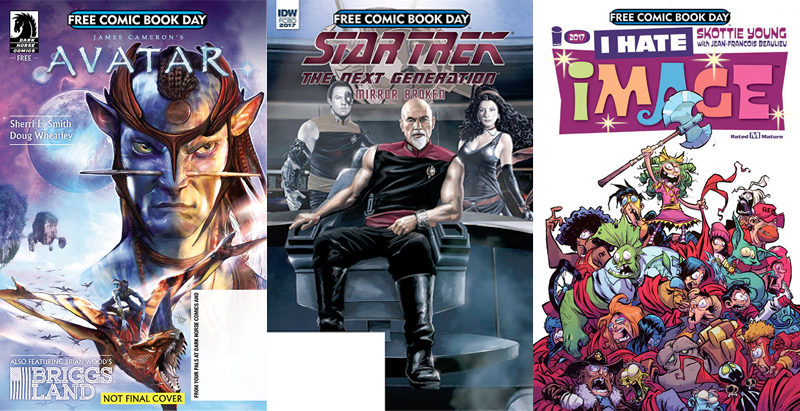 Here Are The Amazing Comics You'll Be Reading For Free Comic Book Day 2017
