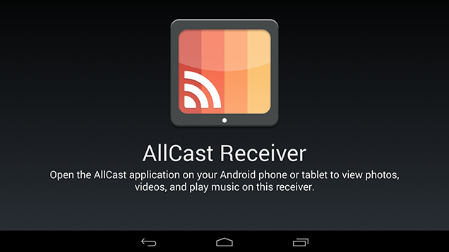 AllCast Receiver Turns Your Phone or Tablet into an AllCast Host