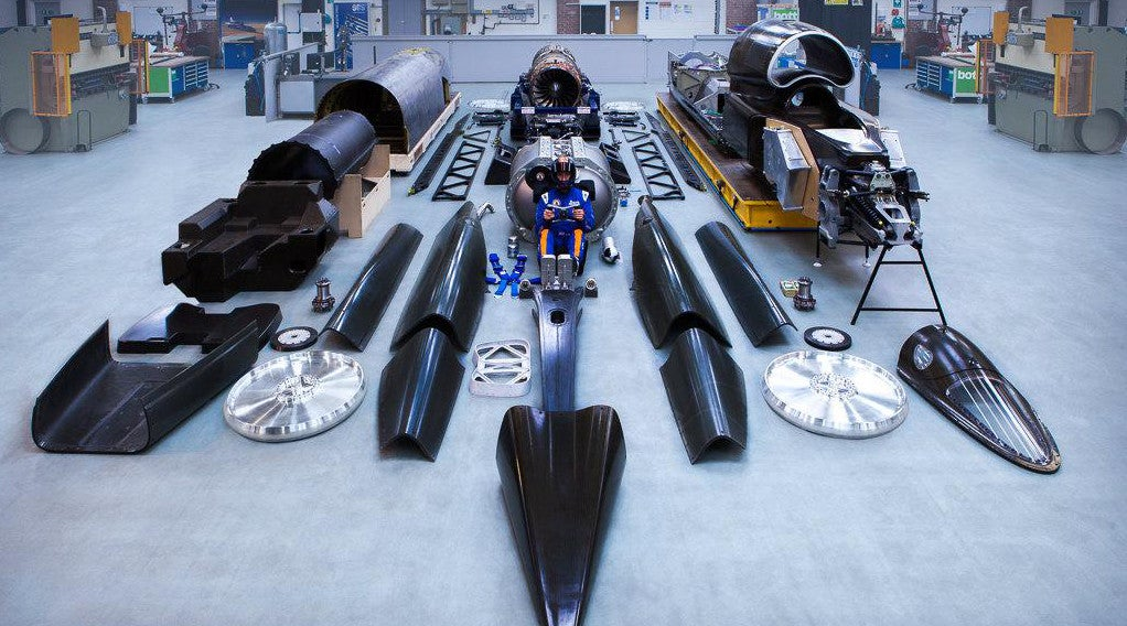 This Is What a 1,000MPH Car Looks Like in Kit Form