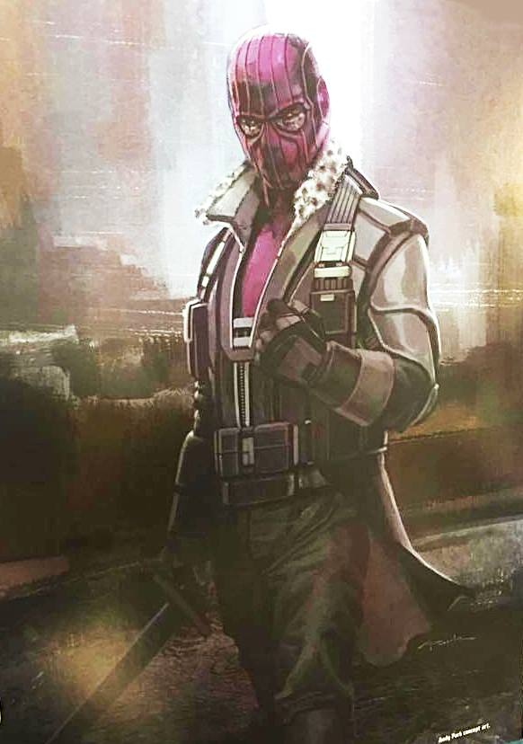 Captain America: Civil War Concept Art Gives Us Zemo With the Hood He Should Have Had