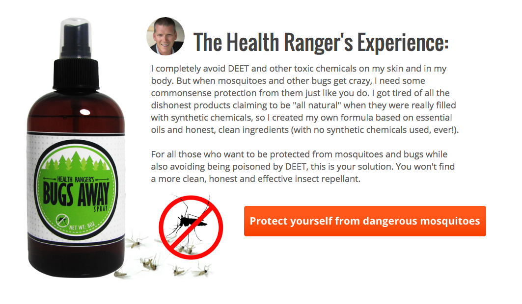 Idiot Who Says Zika Is a Conspiracy Still Wants You to Buy His Bug Spray