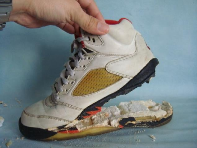 Some Sneakers Age Like Shit