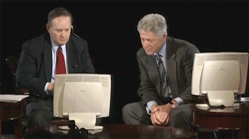Bill Clinton's AMA From 1999 is a Treasure Trove of Reaction GIFs