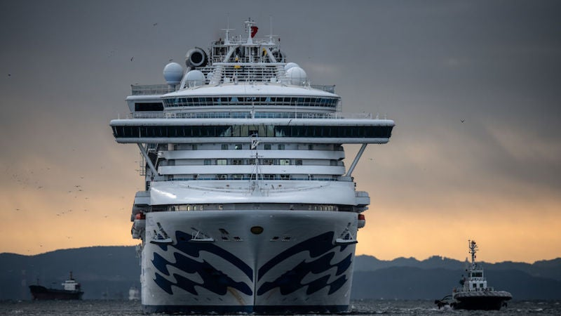 With The Arrival Of Infected Cruise Ship Passengers, U.S. Practically Doubles Its Cases Of Coronavirus
