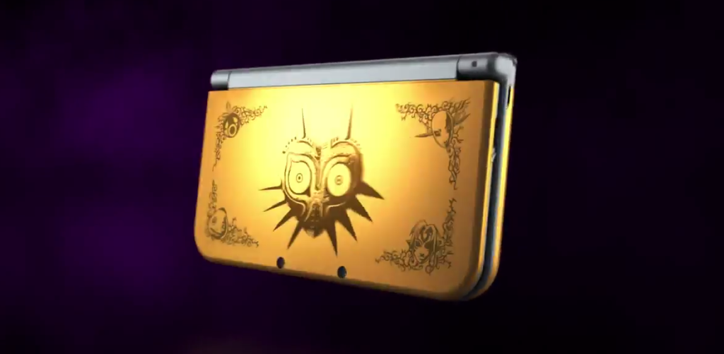New Majora's Mask 3DS XL Announced, And It's Beautiful