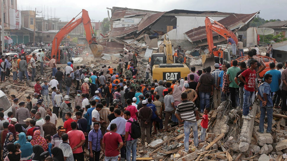 Nearly 100 Dead As Strong Earthquake Rocks Indonesia