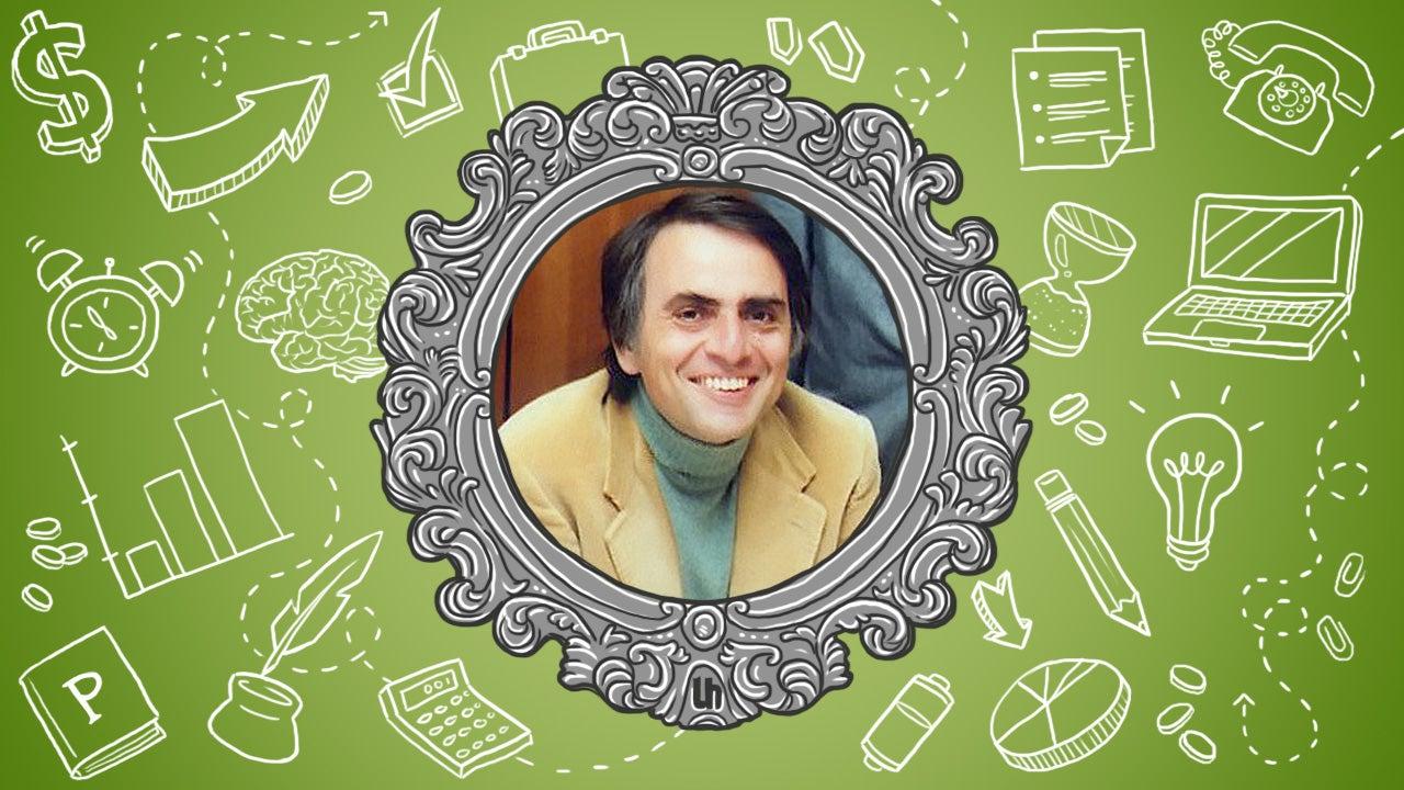 Carl Sagan's Best Productivity Tricks