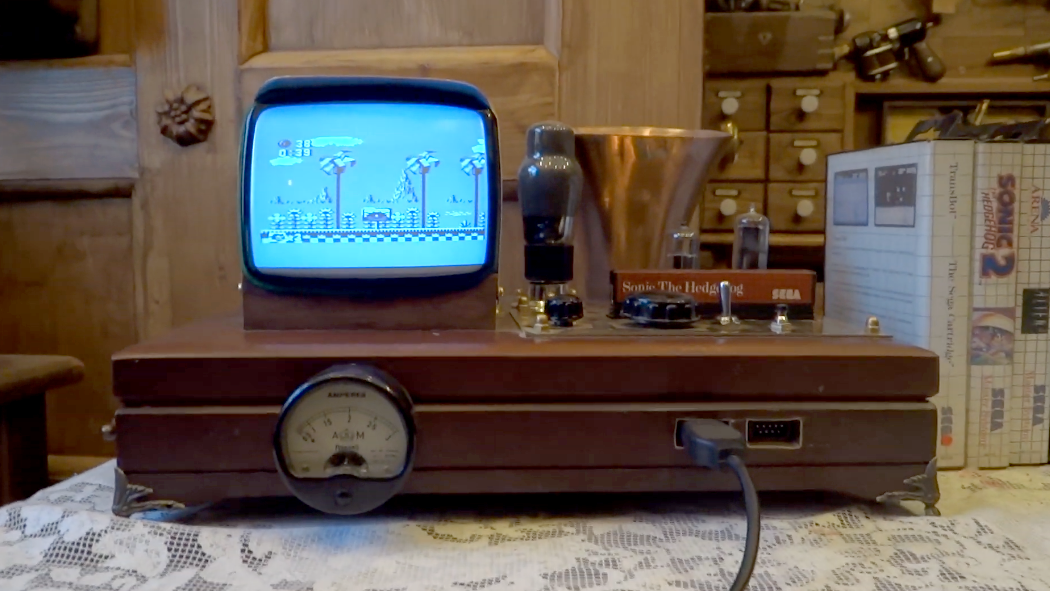 Artist Turns Sega Mega Drive Into The Steampunkiest Console Ever