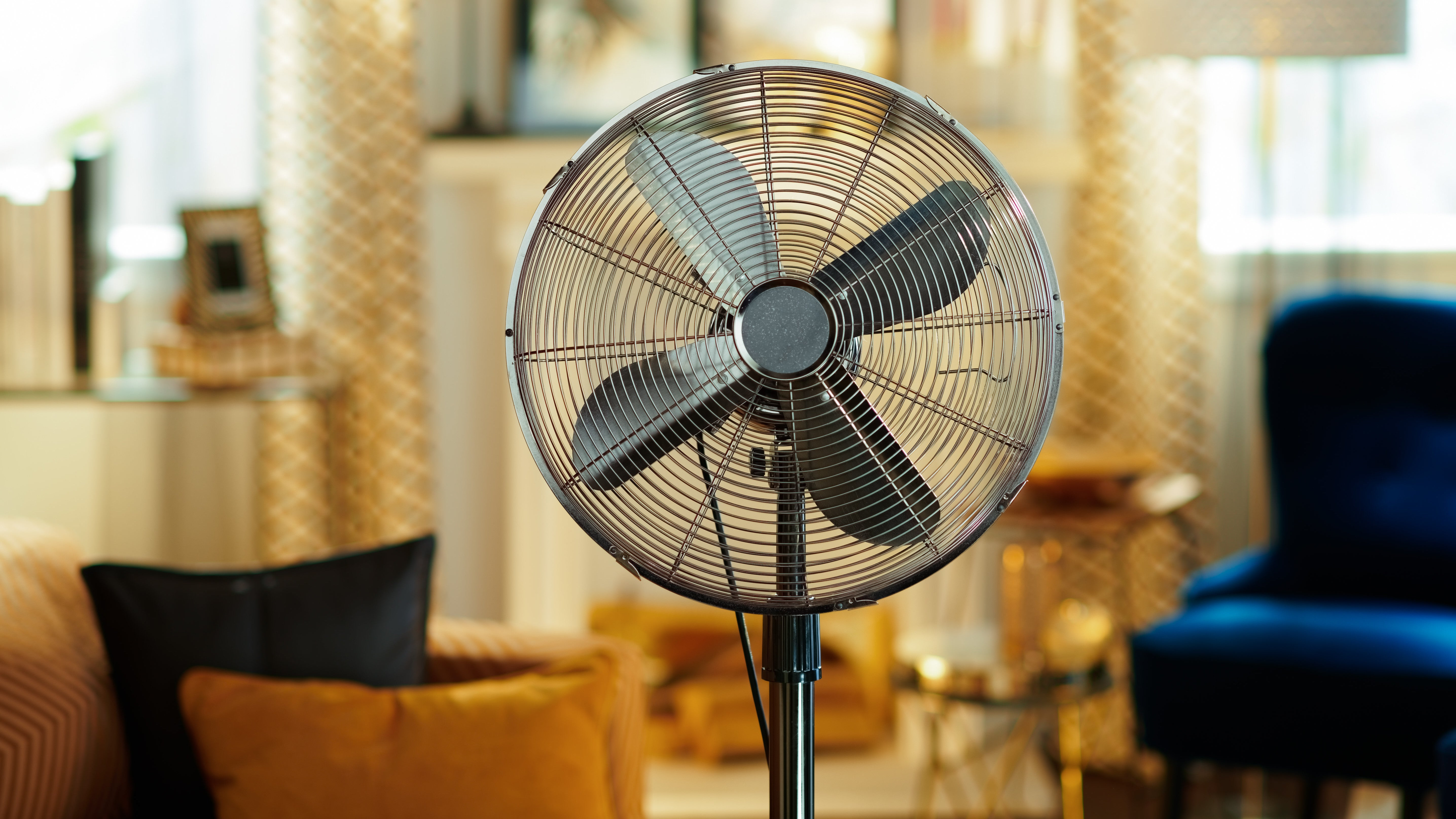 A Fan Won't Always Cool You Off In Hot, Dry Weather