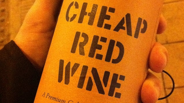 Cheap Paper On a Wine Label May Indicate Lousy Quality
