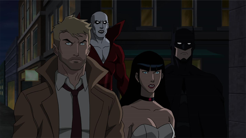 'First' Look At The Justice League DarkAnimated Movie Skips Half The Team, But Has Batman