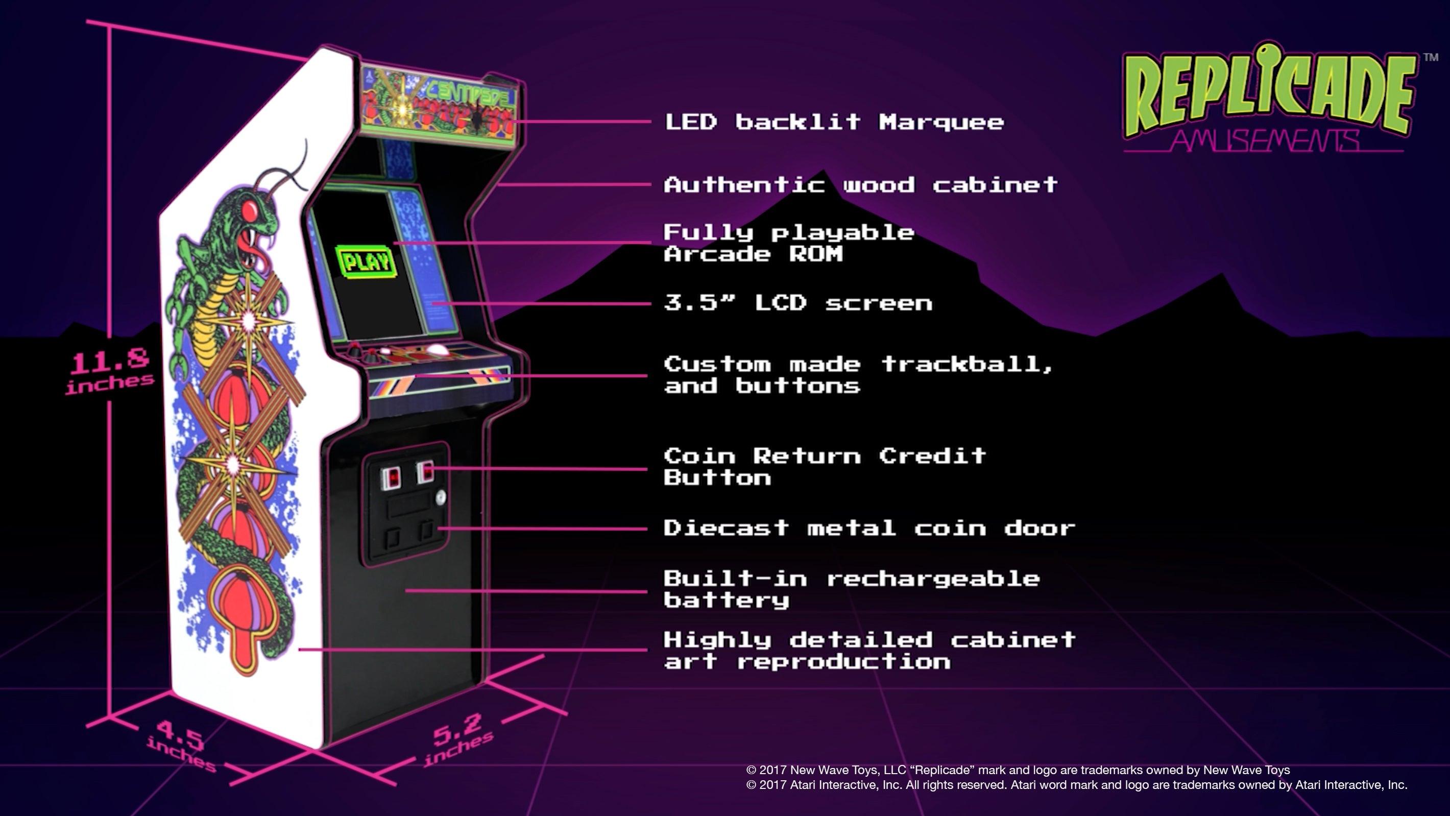 Tiny 12-Inch Arcade Cabinet Is Actually Playable | Kotaku