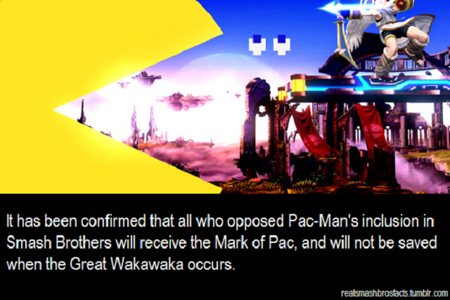 The Internet Reacts To Pac-Man Being In Smash Bros